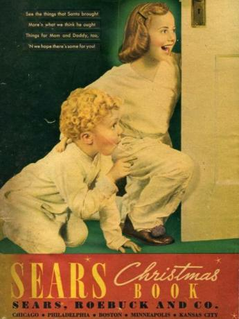 Cover of Sears Wishbook - 1933